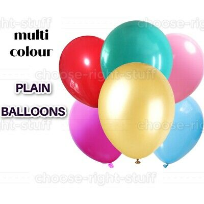 20 X Latex PLAIN BALOON BALLONS helium Wedding BALLOONS Quality Party Birthday
