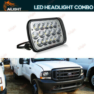 7x6 LED Headlight Sealed Hi-Lo For Ford Super Duty Truck F550 F600 F650 F700 FLD