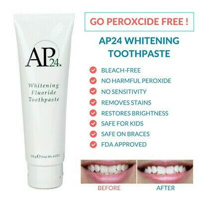 GENUINE Nu-Skin AP24 Whitening Fluoride Toothpaste 110g 4oz. FREE POST FROM VIC