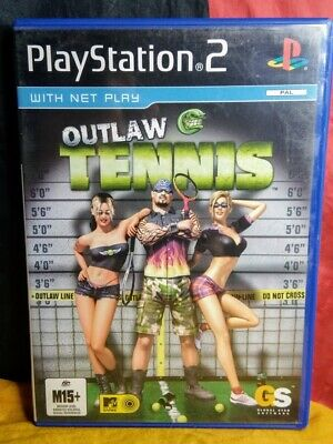 Outlaw Tennis - Sony PS2 PAL - Includes Manual
