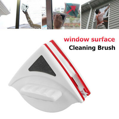Magnetic Double Sides Window Glass Wiper Cleaner Surface Cleaning Brush Tools