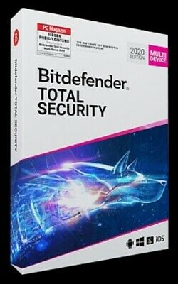 BITDEFENDER Total Security (Multi-Device) 2020 12 Monate für 5 Geräte