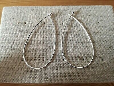305db22a10cb5 STELLA & DOT Hammered Wire Small Hoops Gold/Silver/Rose Gold Brand ...