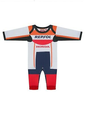 #Motogp 2019 Baby Toddler Romper Bodysuit Grow Race Suit #Repsol #Hrc #Honda