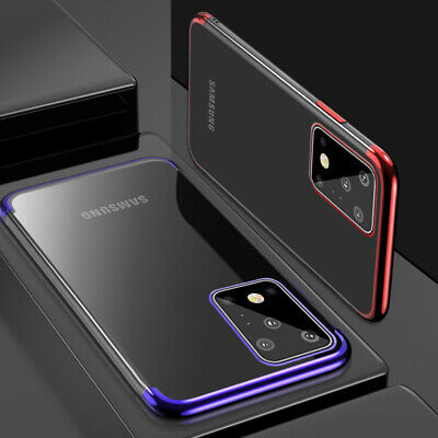 For Samsung Galaxy S9 S8 S10 Plus Luxury Slim Shockproof Silicone Case Cover