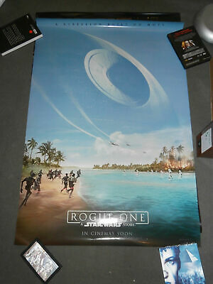 Star Wars Rogue One Affiche Originale Us Internationale Preventive Ds Roulee