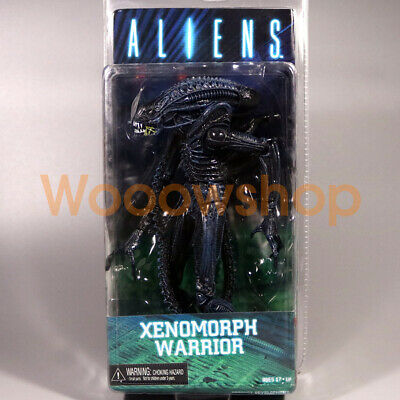 "NECA Blue Alien Xenomorph Warrior 7"" Action Figure Aliens Collection Series 2"