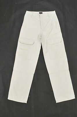 Guess kids beige Trousers Cargo Pants Made in ITALY Boys 13 Years
