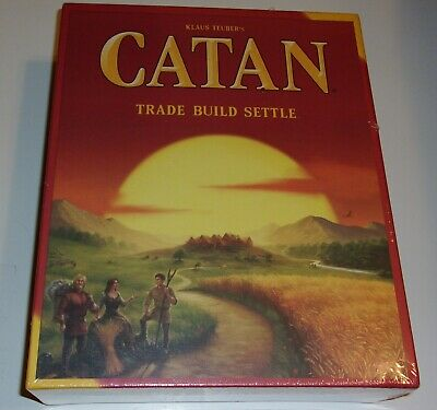 Catan 5th Edition Trade Build Settle Card and Board Game Settlers of Catan