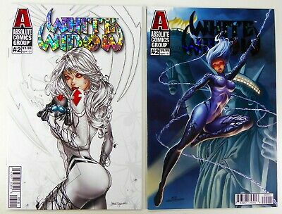 Absolute WHITE WIDOW #2 Jamie TYNDALL FOIL + Ace CONTINUADO Variant SHIPS FREE!