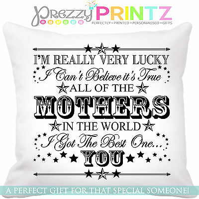 Cushion All Of The In The World...i Got The Best One...you! Christmas Valentines