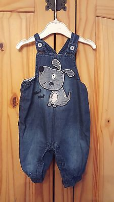 Boys Dungarees Age 0-3 Months Dunnes