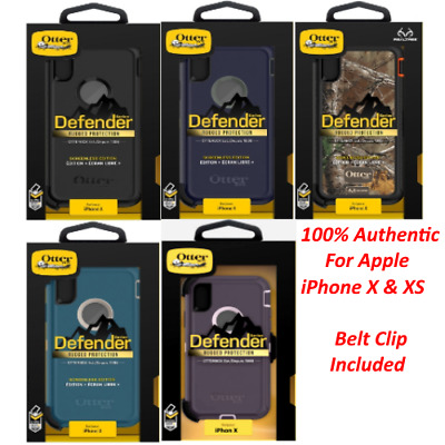 Otterbox Defender Series Case Cover for Apple Iphone X & XS With Belt Clip