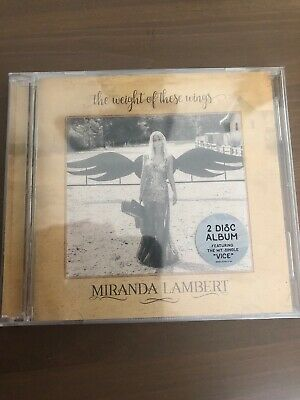 The Weight of These Wings * by Miranda Lambert (CD, Nov-2016, 2 Discs, RCA)