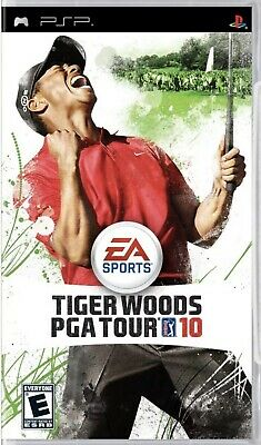 Tiger Woods PGA Tour 10 - Sony PSP - Brand New Sealed