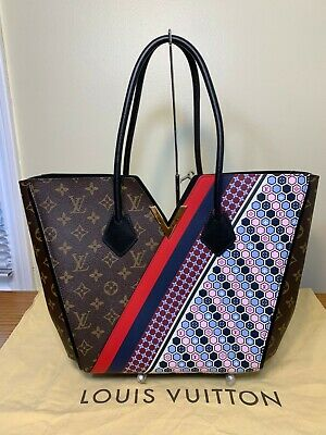 Louis Vuitton Limited Kimono MM Monogram AND Multicolor Graphic Pattern Tote