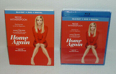 Home Again Bluray Blu Ray NEW Sealed DVD And Digital Reese Witherspoon