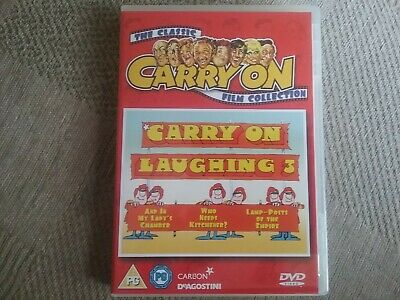 Carry on Laughing 3 the classic carry on film collection dvd freepost