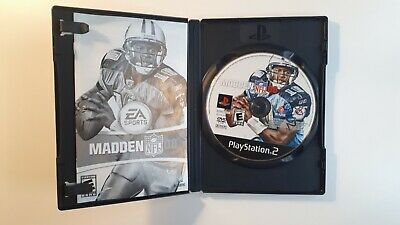 Madden Nfl 08 Game For Playstation 2 Ps2, Case, Game Disc, Manual, Complete