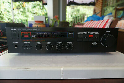 Yamaha A-17 Natural Sound Stereo Amplifier JAPAN Eighties Vintage