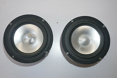"Pair of Ultra Rare E.J Jordan JX92S Full Range Loudspeakers 5.5"" 8 Ohm 50W"