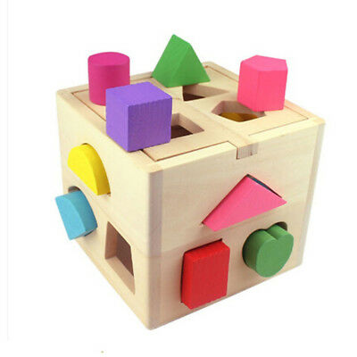 Baby educational toys wooden building block toddler toys for learning toy toolPJ