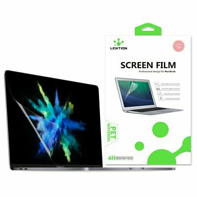 LENTION Clear Screen Protector Compatible for 2016-2019 MacBook Pro (15-inch