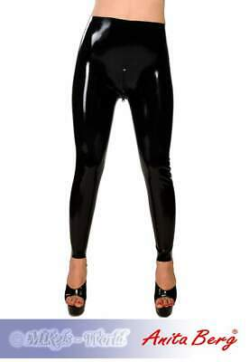 Anita Berg - Enge lange Latex Leggings / Hose mit Zip in diversen Farben