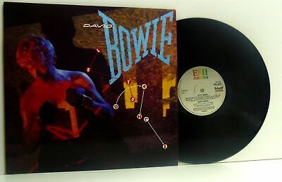 DAVID BOWIE lets dance LP EX/EX, AML 3029, vinyl, album, with lyric inner sleeve