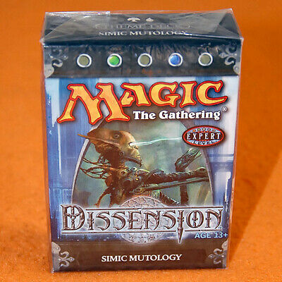 "Magic Theme Deck: ""Simic Mutology"" Preconstructed Starter (MTG Dissension)"