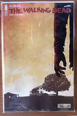 THE WALKING DEAD 193 Last Issue FIRST PRINT 1st Print BAGGED+BOARDED