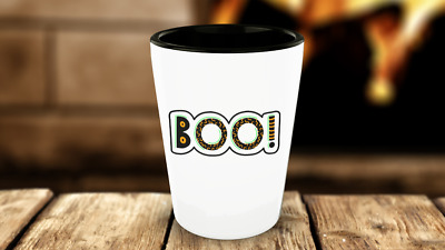 BOO Happy Halloween Shot Glasses Drinking Game Funny Gag Gift