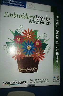 DESIGNERS GALLERY EMBROIDERY WORKS ADVANCED embroideryworks SOFTWARE