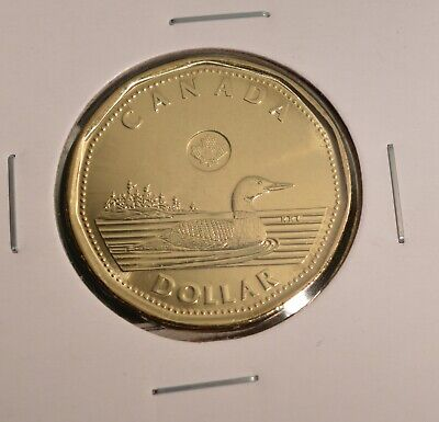 2019 Canada Loonie - Regular Issue Loon - Uncirculated from Mint roll