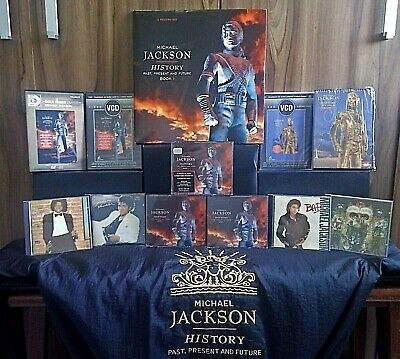 Michael Jackson HISTORY Brazil Collectors Lot of 3Lp Cd DVD Vcd Jacket & more!