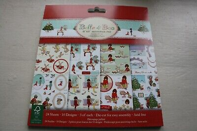 itemsCHRISTMAS craft bundle- FABULOUS MIX NIGHT BEFORE CHRISTMAS & BELLE & BOO.