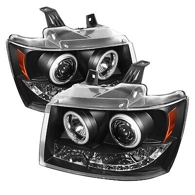 Spyder Auto 5030047 CCFL LED Projector Headlights for 07-13 Avalache 07-14 Tahoe