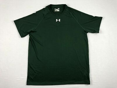 NEW Under Armour - Green HeatGear Short Sleeve Shirt (Multiple Sizes)