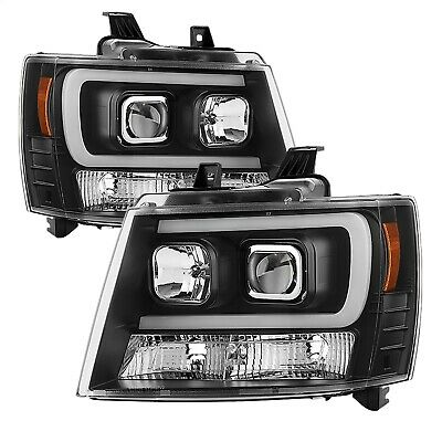 Spyder Auto 5082565 DRL LED Projector Headlights