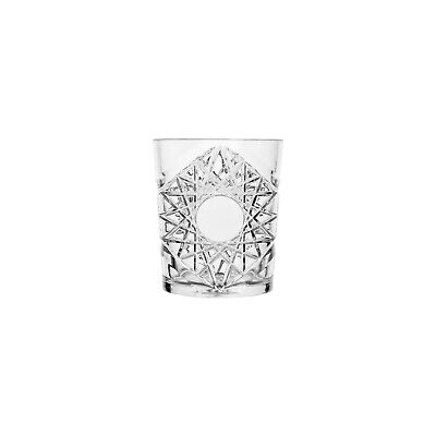 24x Polysafe Crystal Double Old Fashioned 350mL Polycarbonate Plastic Glass DOF