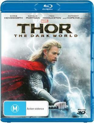 Thor: The Dark World (3D Blu-ray)  - BLU-RAY - NEW Region B