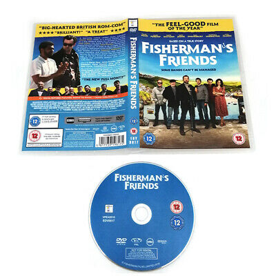 Fisherman's Friends DVD New & Sealed Region 2