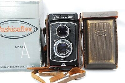 【1954's/ Exc+++++ 】 Yashicaflex Model A Medium Format TLR from Japan  591