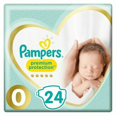 PAMPERS Premium Protection New Baby Taille Micro - 1 à 2,5kg - 24 Couches Bébés