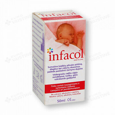 NEW INFACOL Colic Relief Drops For Babies - 50ml