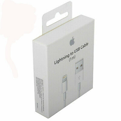 OEM Original 1M Apple Lightning USB Cable Charger for iPhone 6 6s 7 8 Plus 5c