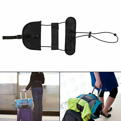1pc Bag Strap Luggage Bungee Travel Suitcase Adjustable Tape Belt Tie Carry On