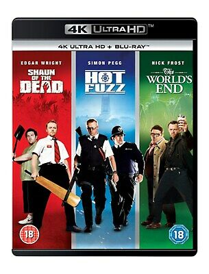 Shaun of the Dead/Hot Fuzz/The World's End (4K Ultra HD Boxset) [UHD]