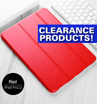 For iPad Pro 11 inch 2018 Smart Shockproof Folio Case Cover A1980, A2013, A1934