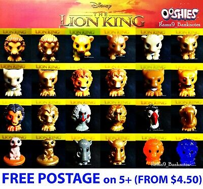 Woolworths The Lion King Ooshies - Disney Lion King - FREE Post 5+Items